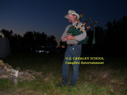Campfire Entertainment at Cavalry School