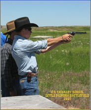Pistol Range and .45 Colt Livefire